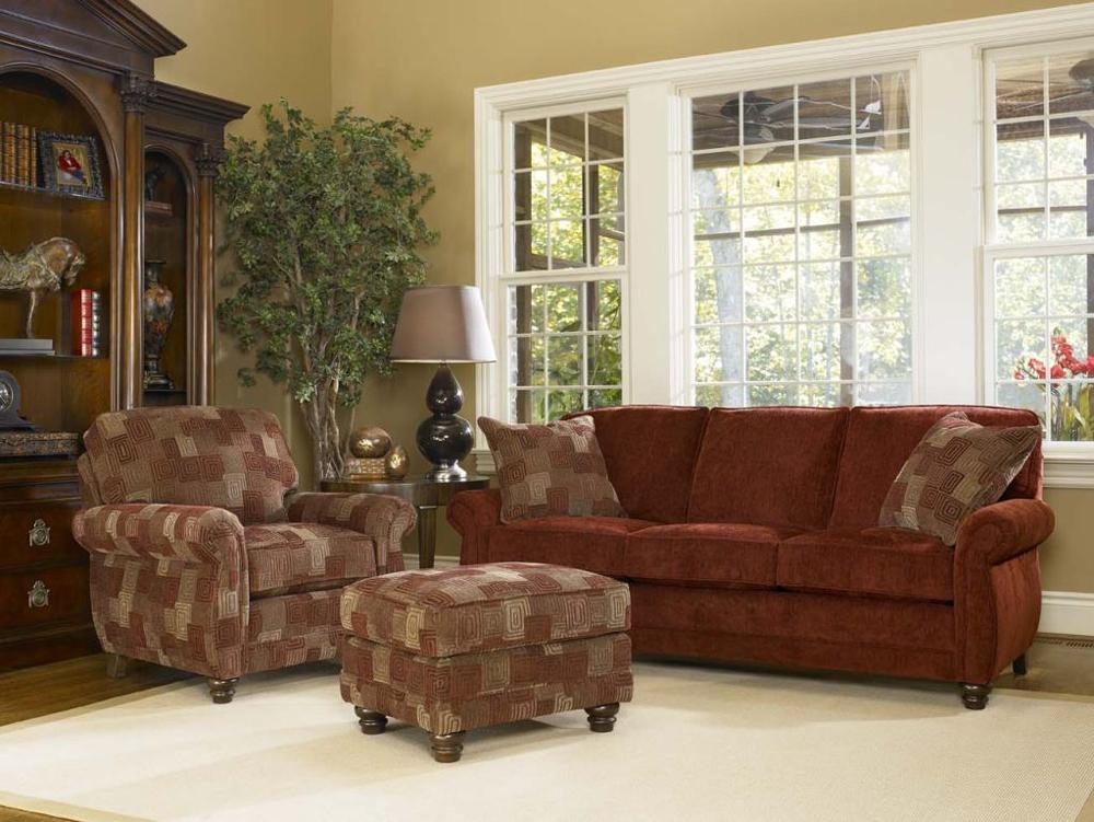 302 Stationary Living Room Group by Smith Brothers at Mueller Furniture