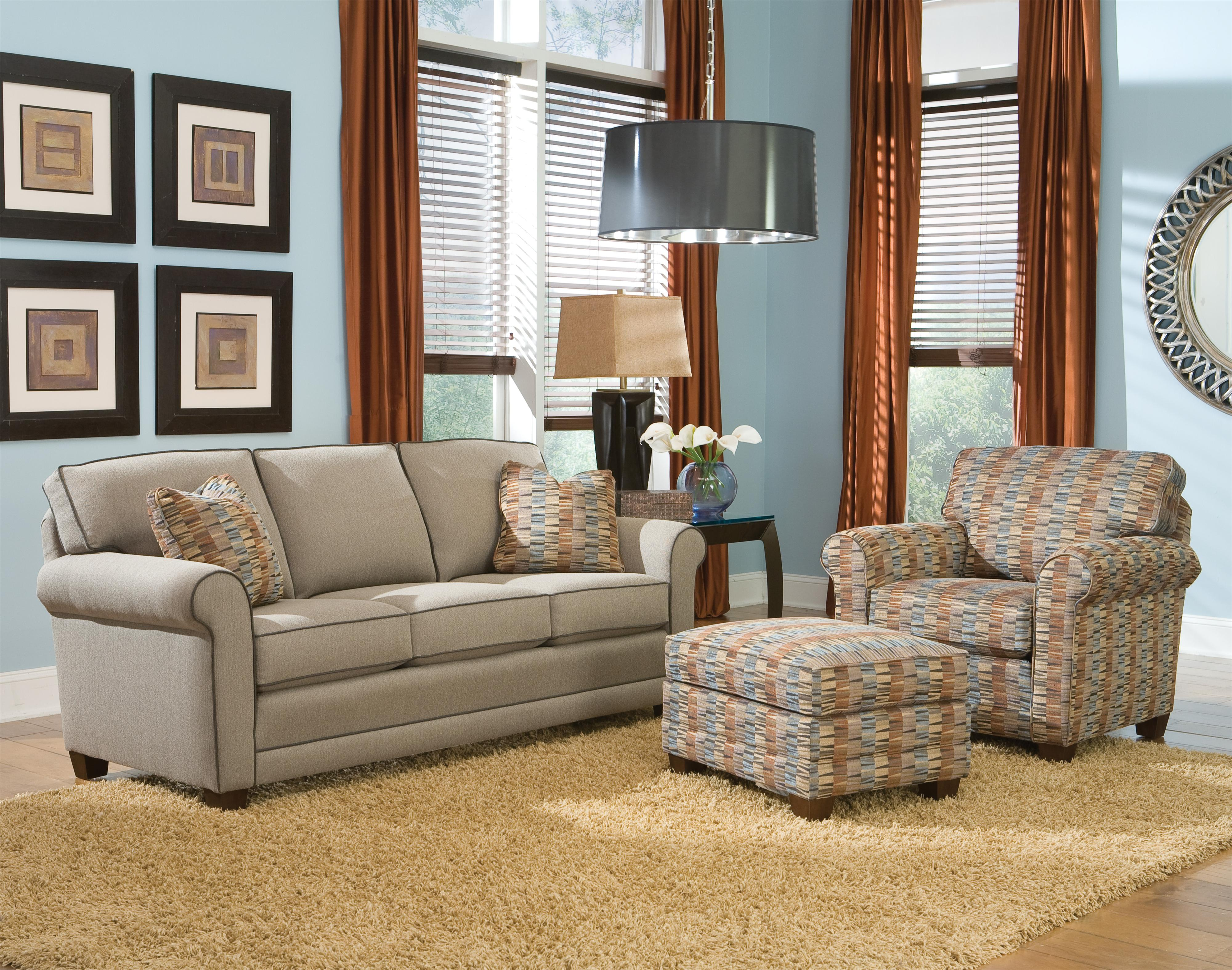 366 Stationary Living Room Group by Smith Brothers at Rooms for Less
