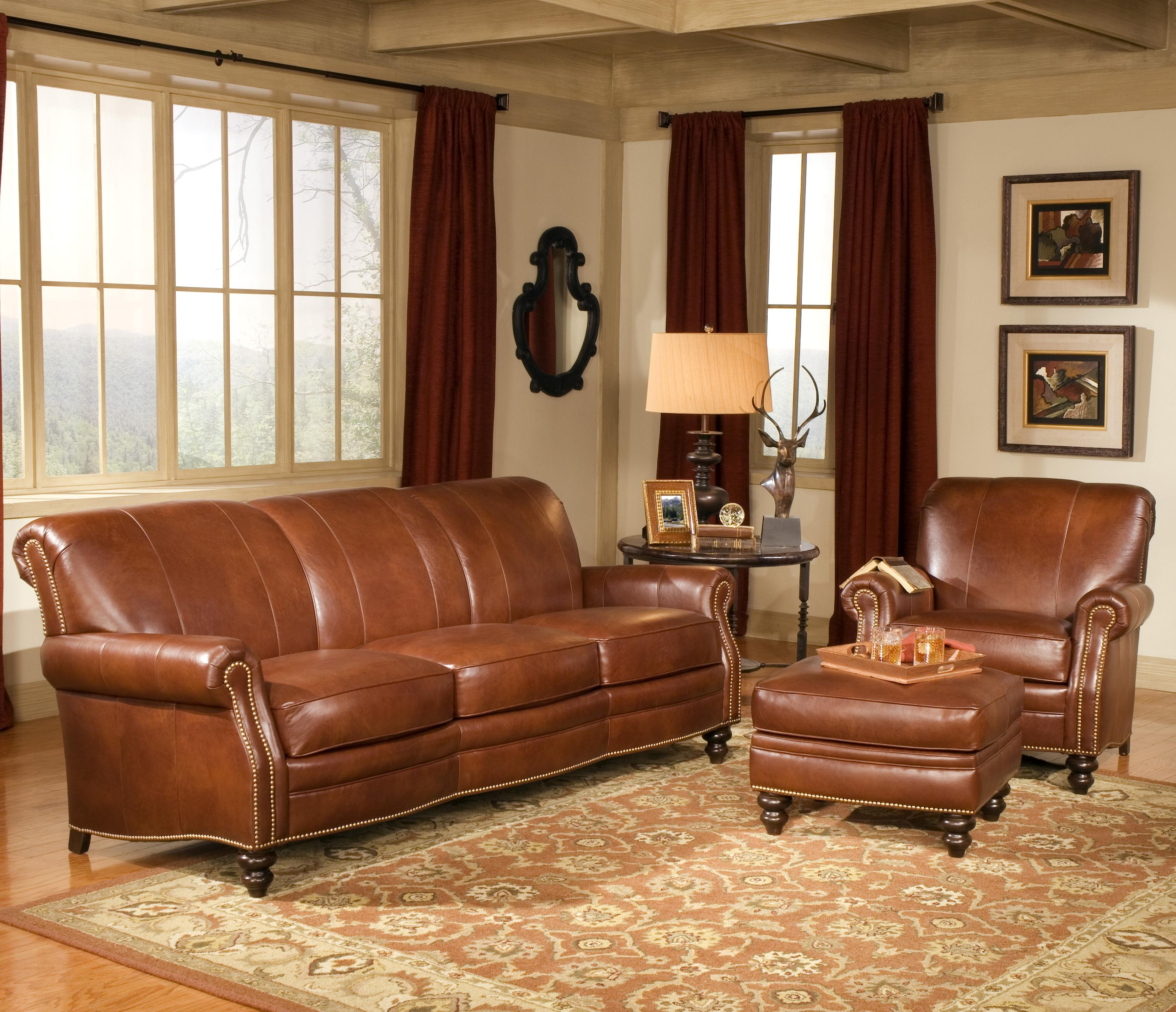 383 Stationary Living Room Group by Smith Brothers at Rooms for Less