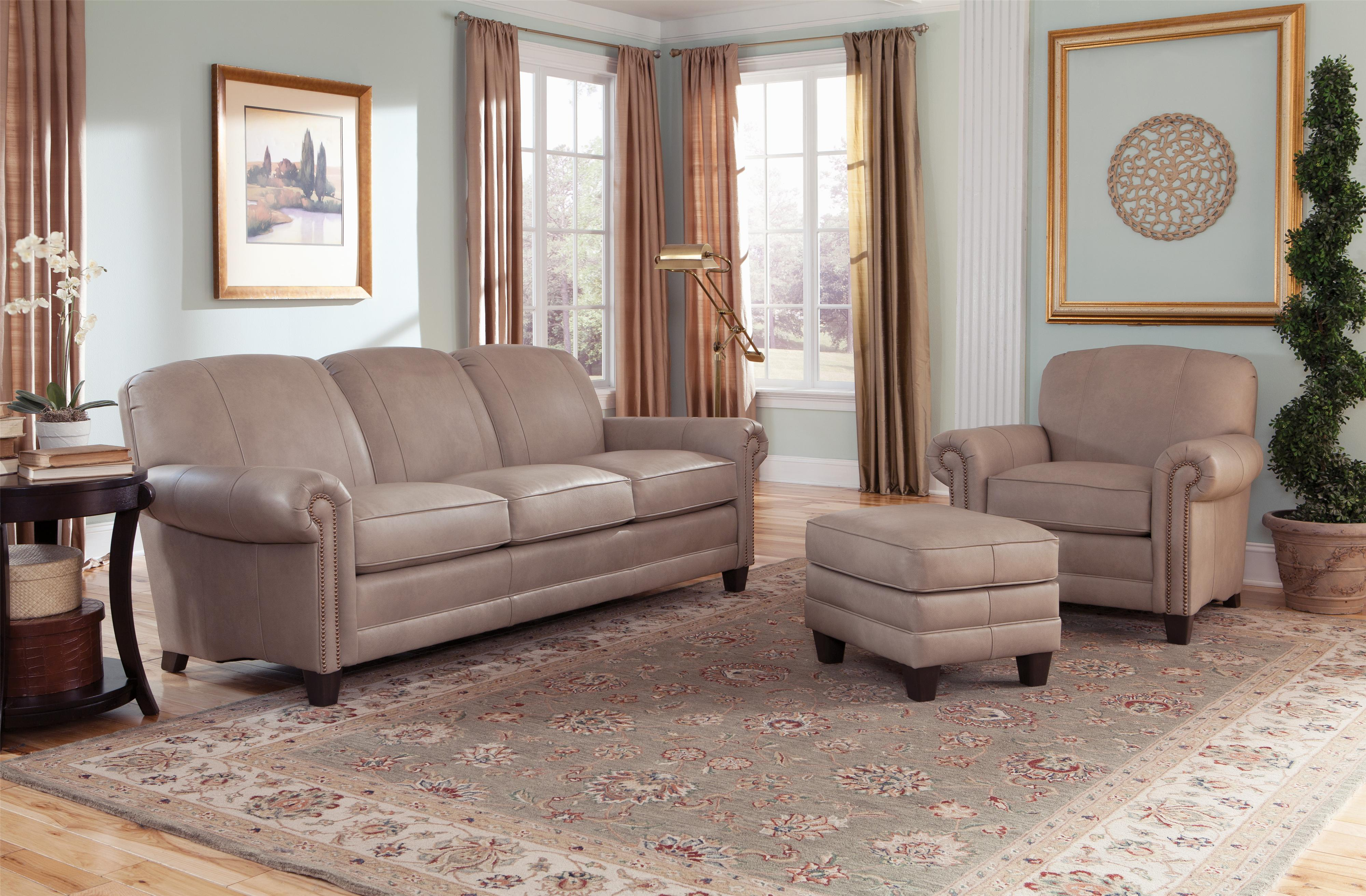 397 Stationary Living Room Group by Smith Brothers at Mueller Furniture