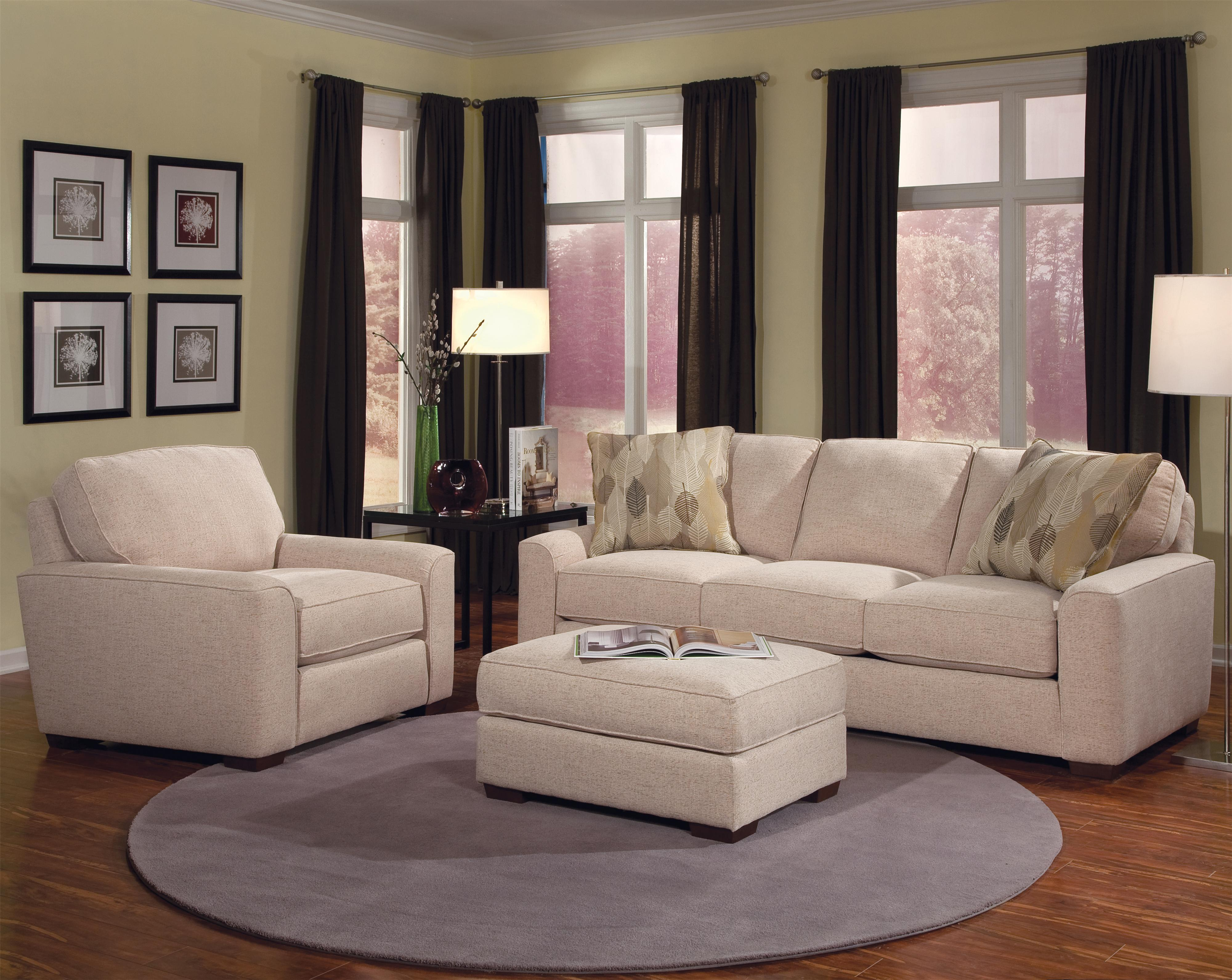 Build Your Own (8000 Series) Stationary Living Room Group by Smith Brothers at Saugerties Furniture Mart