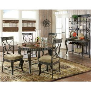 Steve Silver Hamlyn Casual Dining Room Group