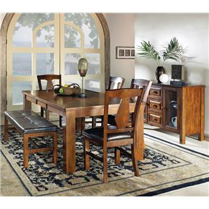 Steve Silver Lakewood  Casual Dining Room Group