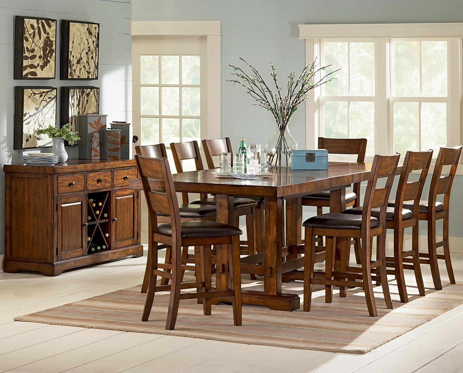 Zappa Formal Dining Room Group by Steve Silver at Northeast Factory Direct