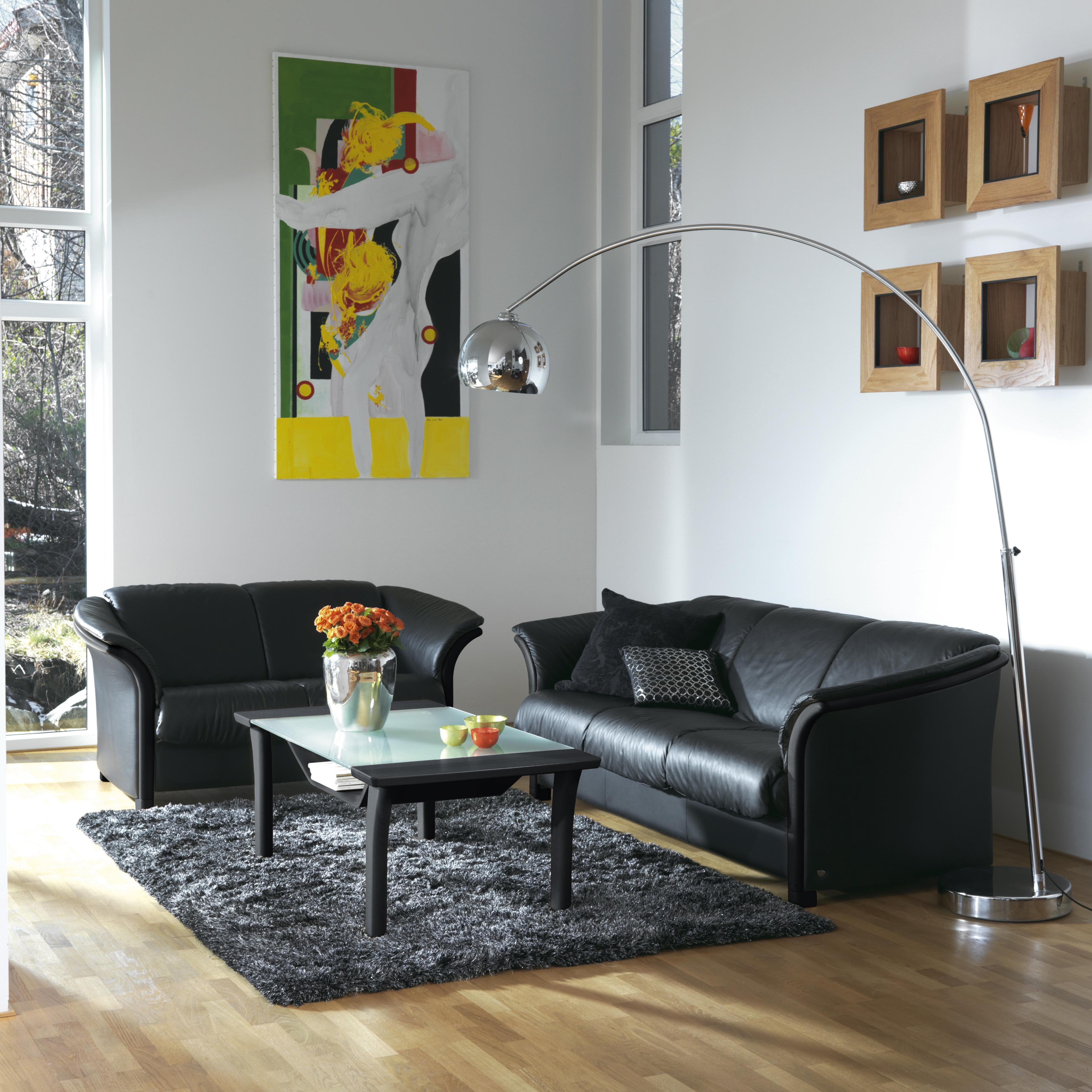 Manhattan Stationary Living Room Group by Stressless at Story & Lee Furniture
