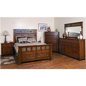 Sunny Designs Santa Fe King Bedroom Group
