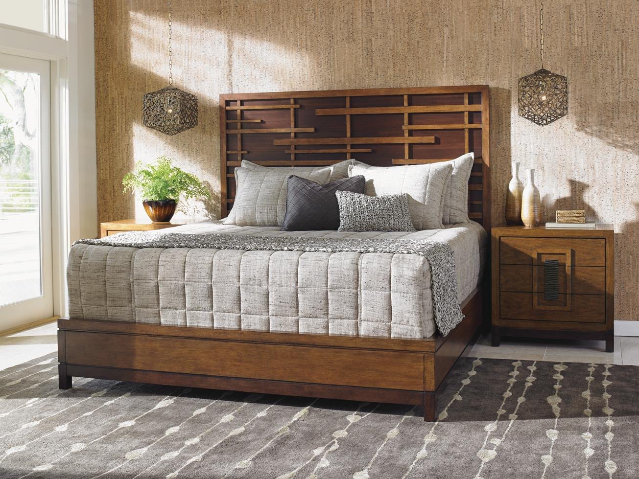 Island Fusion King Bedroom Group by Tommy Bahama Home at Baer's Furniture