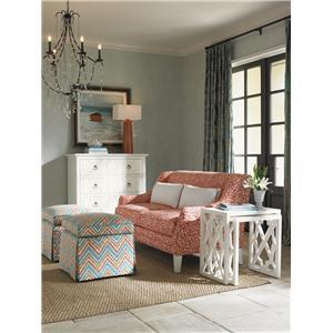 Tommy Bahama Home Ivory Key Stationary Living Room Group