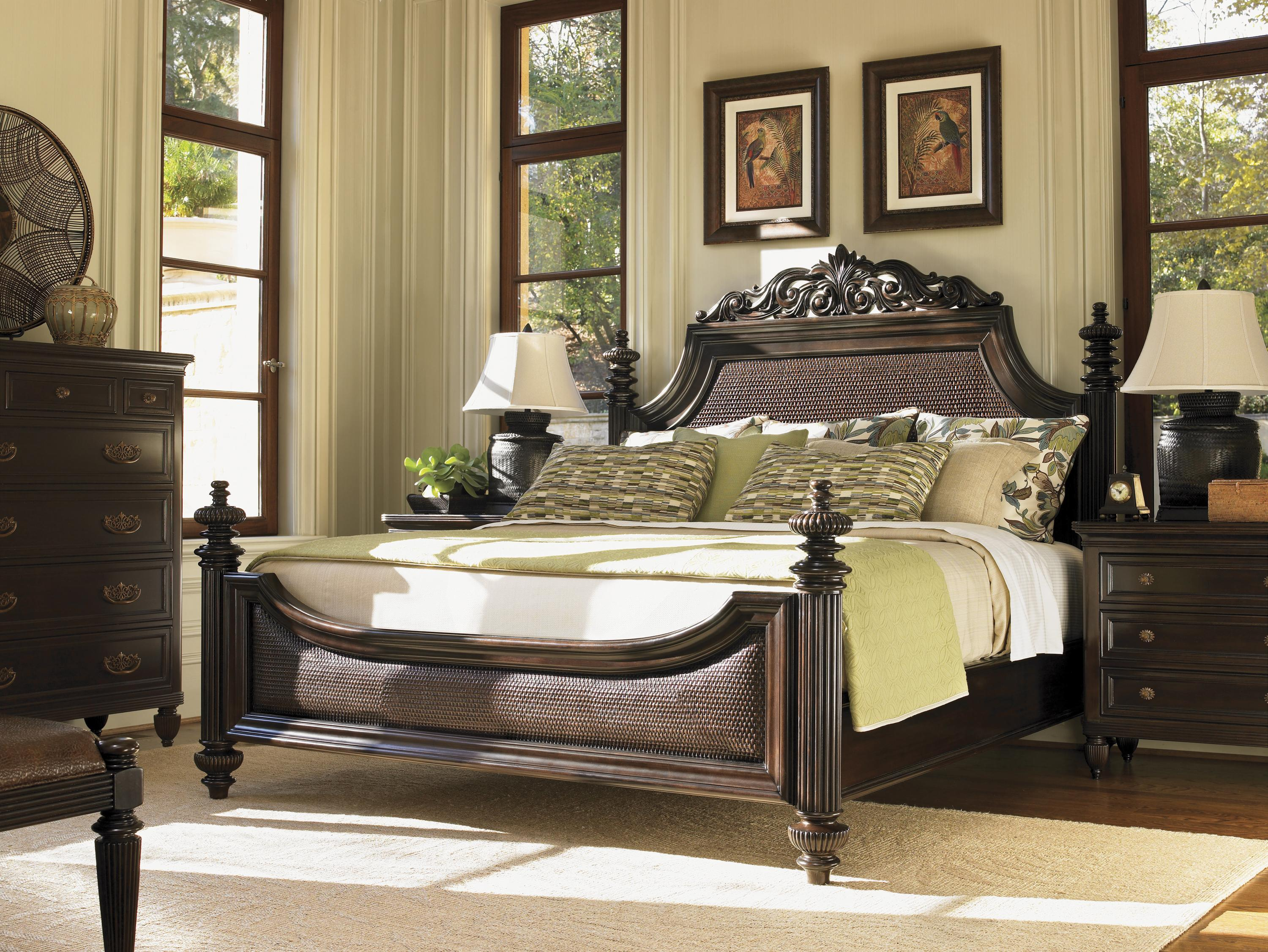 Royal Kahala King Bedroom Group by Tommy Bahama Home at Baer's Furniture