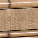Natural Woven Raffia and Bamboo with Maple Veneers