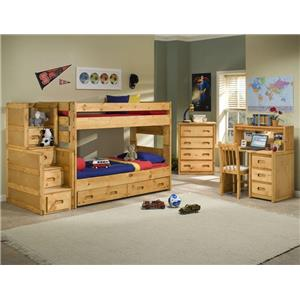 Trendwood Bunkhouse Bedroom Bunk Group