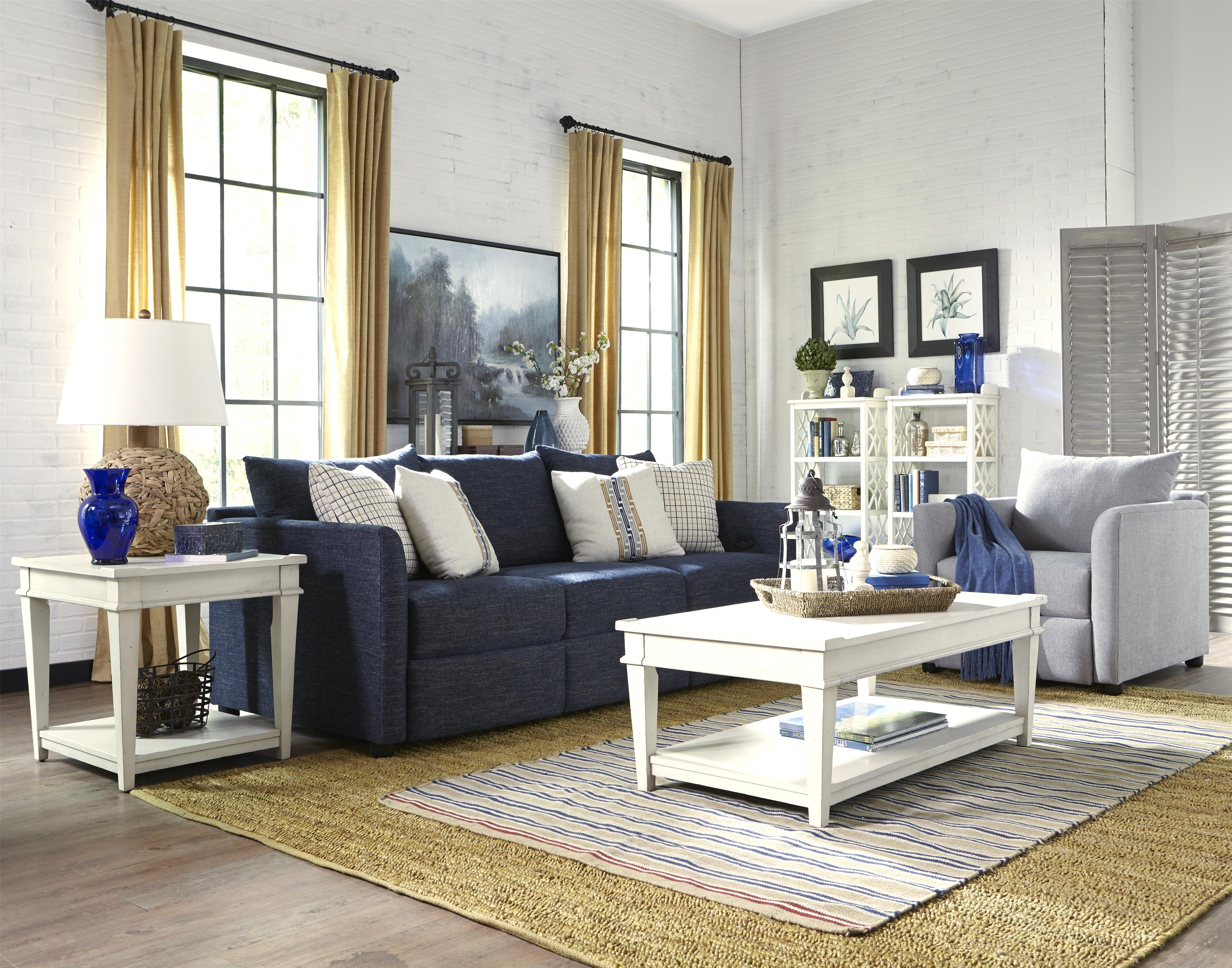 Atlanta Reclining Living Room Group by Klaussner at Northeast Factory Direct