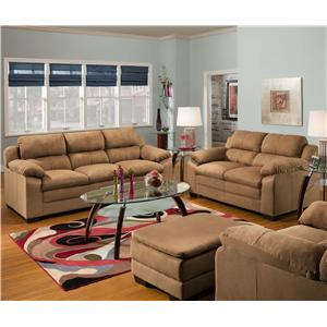 United Furniture Industries 5068 Stationary Living Room Group