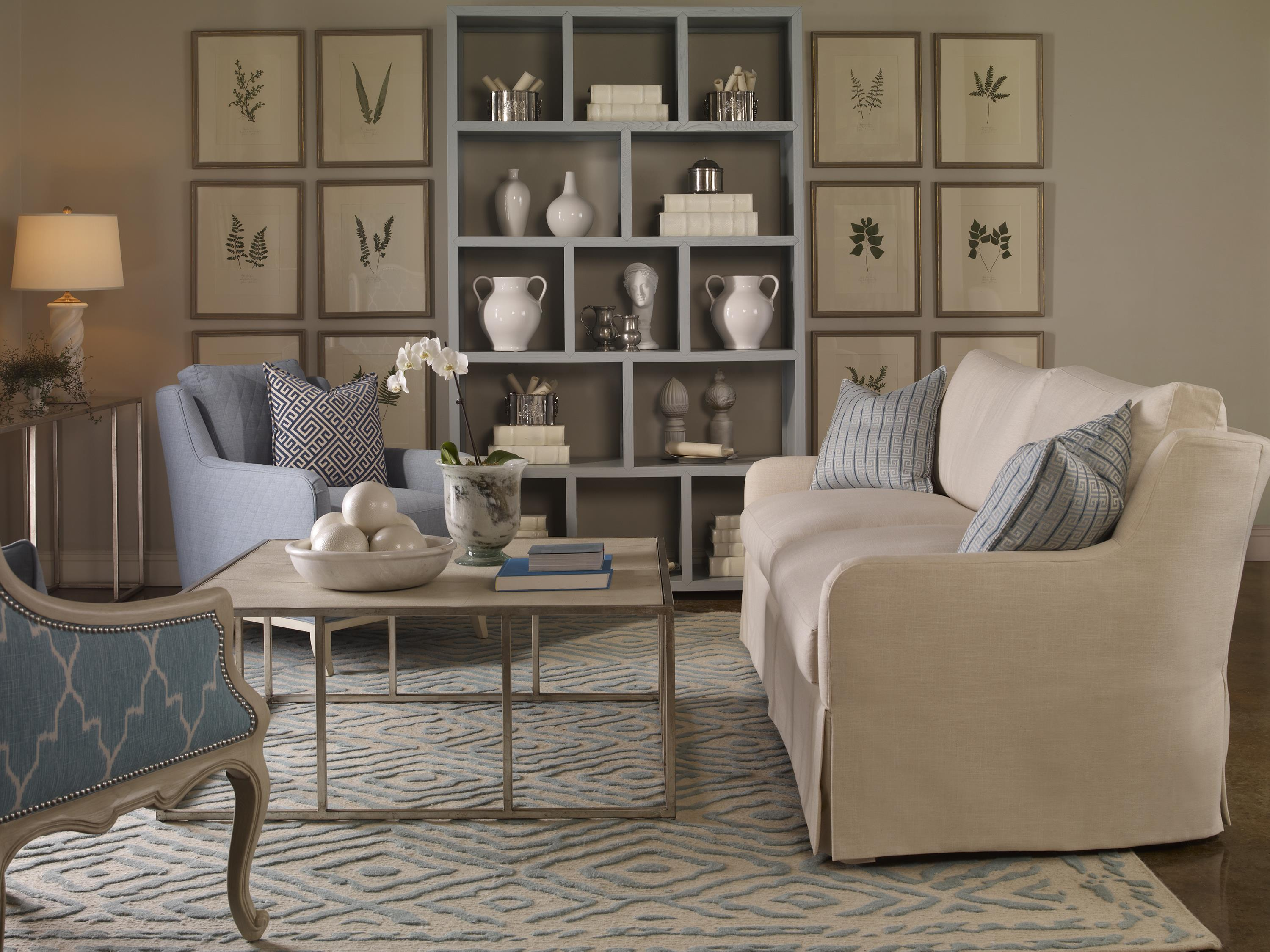 Fisher Stationary Living Room Group by Vanguard Furniture at Baer's Furniture