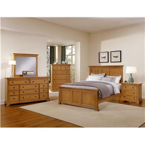 Vaughan Bassett Forsyth California King Bedroom Group