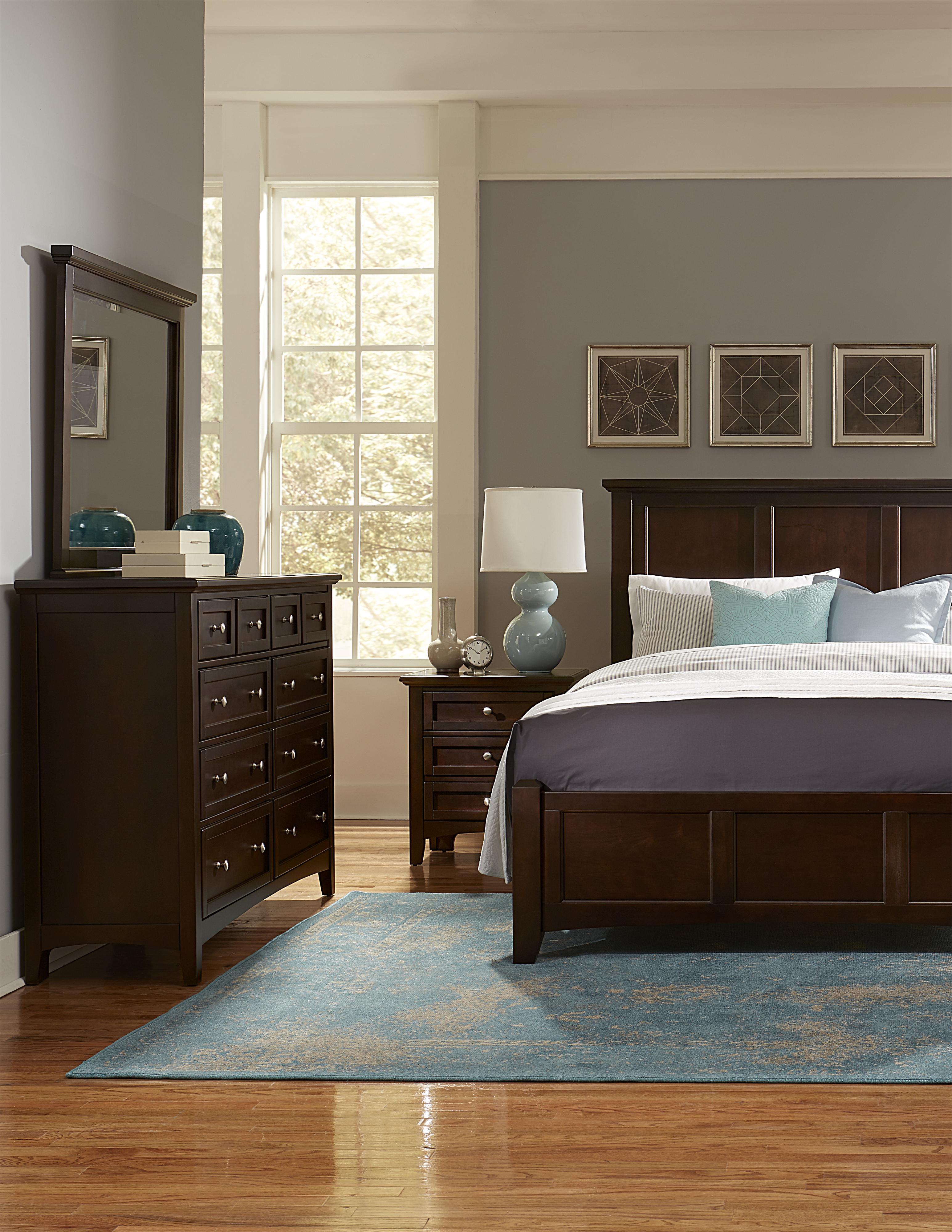 Bonanza California King Bedroom Group by Vaughan Bassett at Northeast Factory Direct