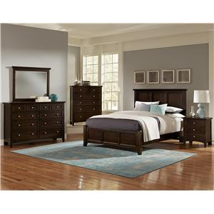 Vaughan Bassett Bonanza California King Bedroom Group