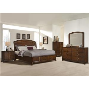 Vaughan Furniture Martinique King Bedroom Group