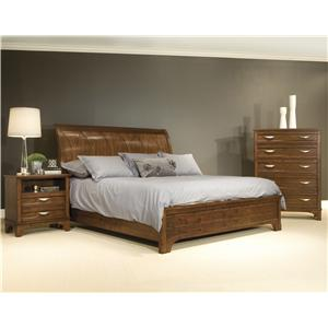 Vaughan Furniture Radiance King Bedroom Group