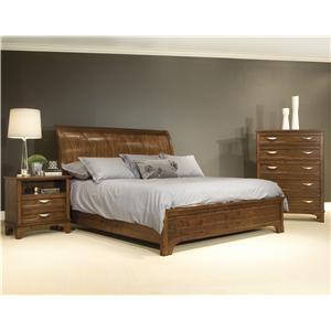 Vaughan Furniture Radiance King Bedroom Group