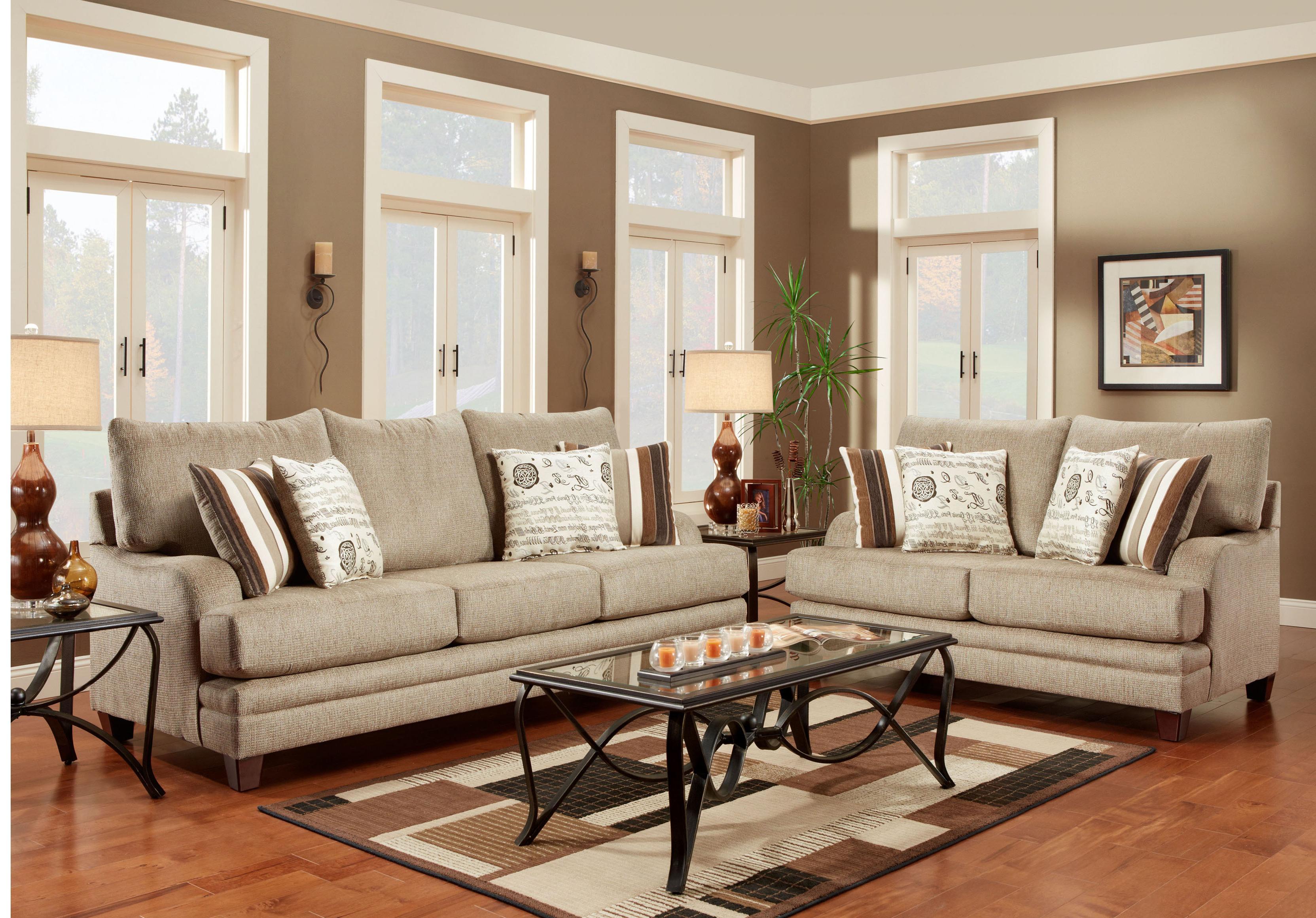2230 Stationary Living Room Group by Washington Furniture at Lynn's Furniture & Mattress