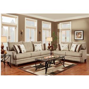 Washington Furniture 2230 Stationary Living Room Group