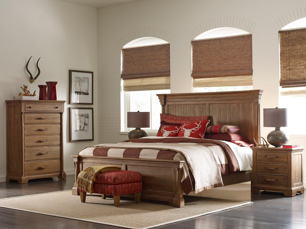 Kincaid Furniture Stone Ridge Queen Bedroom Group Olinde