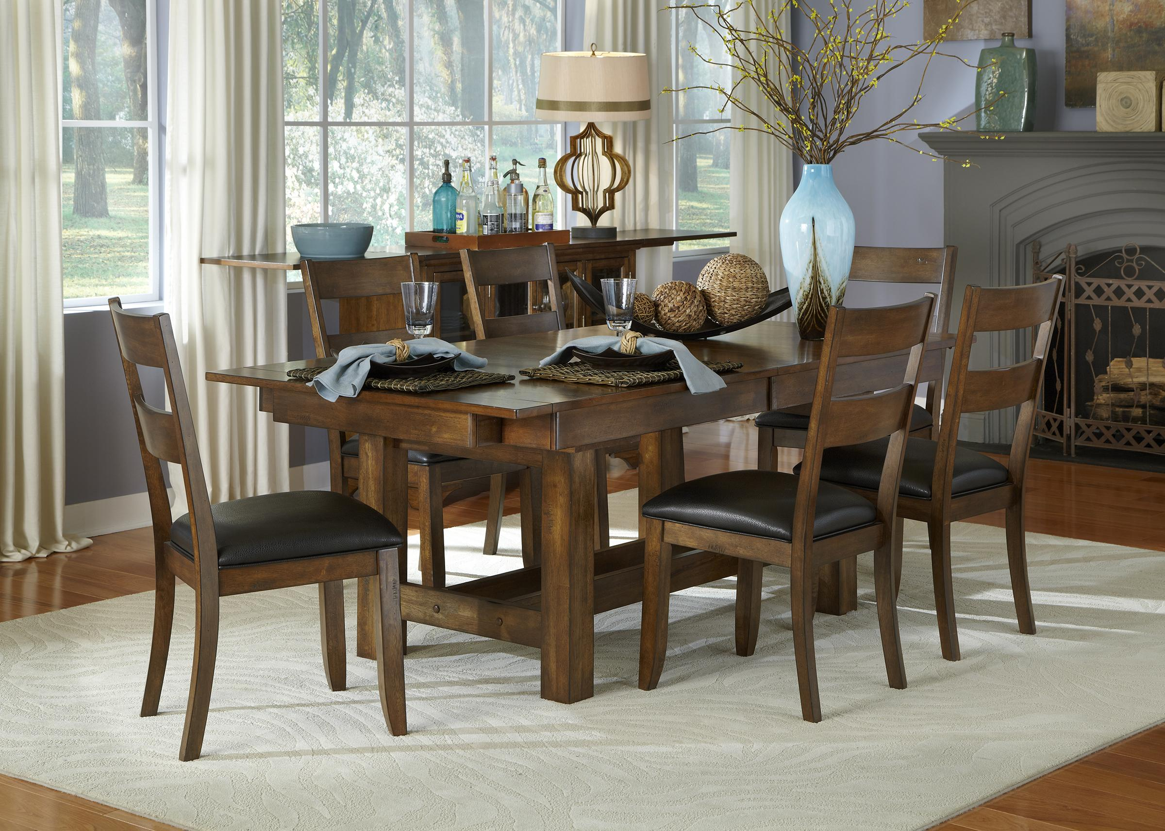 Aamerica mariposa casual dining room group wayside for Casual dining room photos