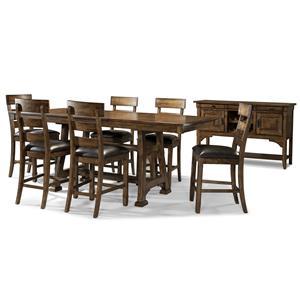 AAmerica Ozark Gathering Height Trestle Table