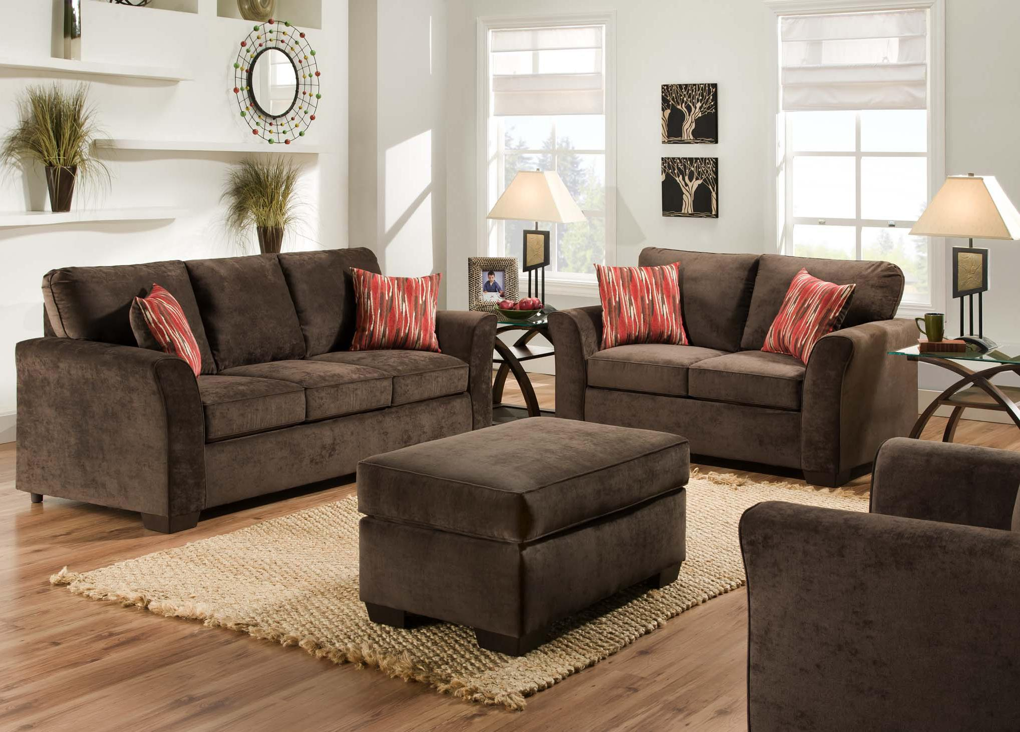 furniture groupings living room american furniture 7670 stationary living room 13236
