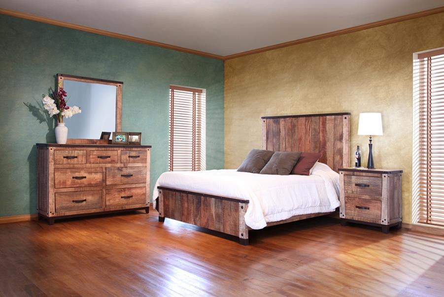 international furniture direct maya queen bedroom group. Black Bedroom Furniture Sets. Home Design Ideas