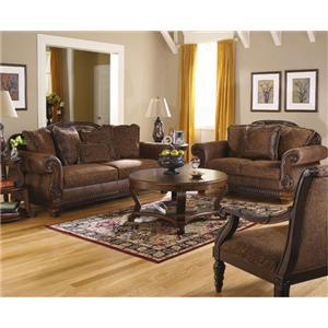 Bradington Truffle 154 By Ashley Furniture AHFA Ashley Furniture Brad