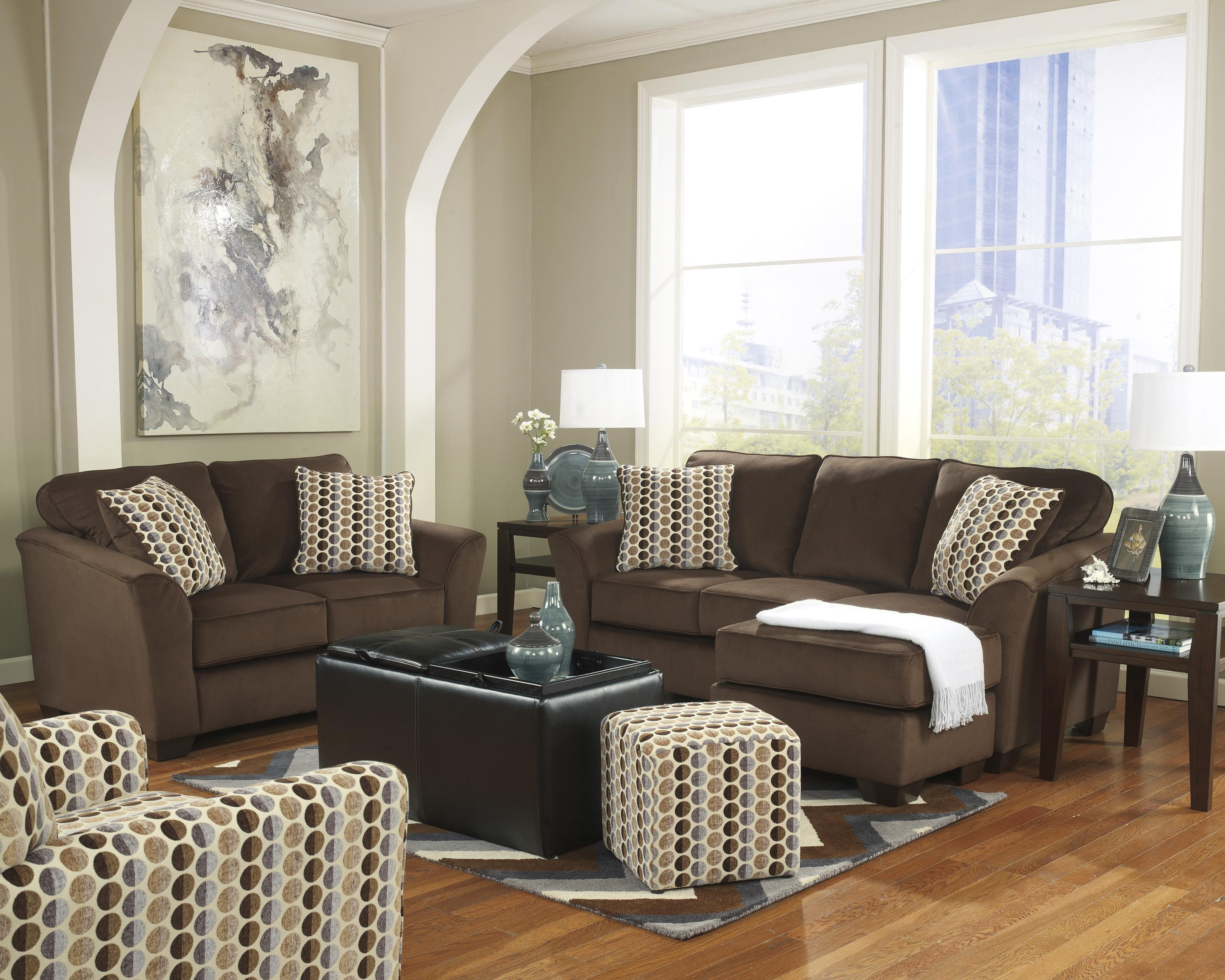 Ashley Furniture Geor Cafe Stationary Living Room