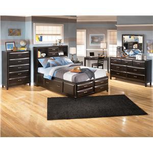 Ashley Furniture Kira B473 65 Queen Storage Headboard Efo Furniture Outlet Headboards