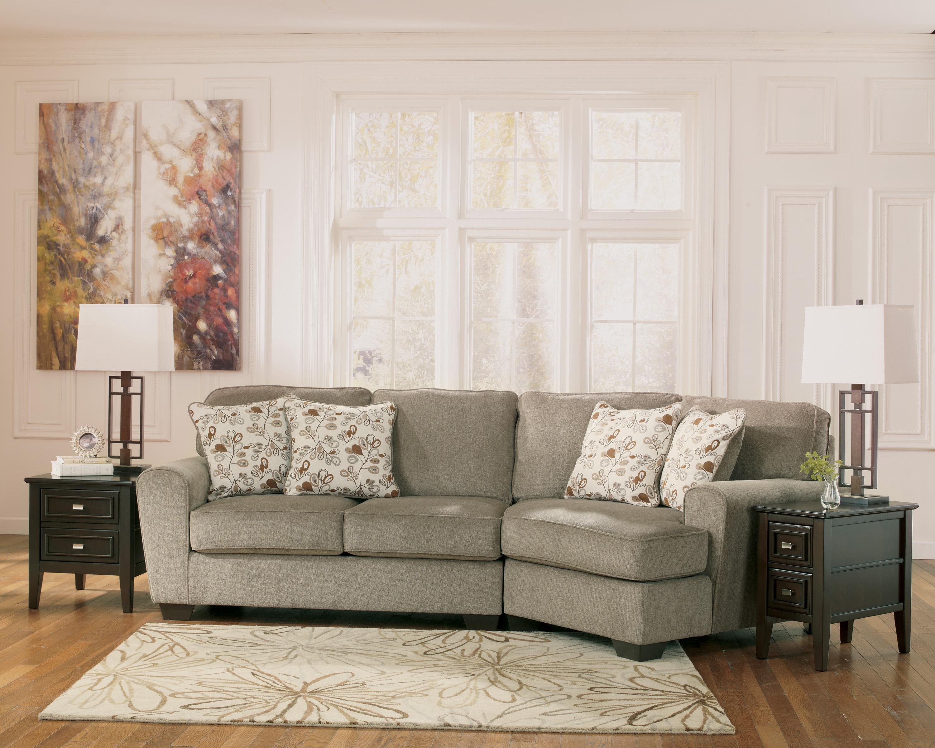 Sofa With Cuddler Signature Design By Ashley Chamberly