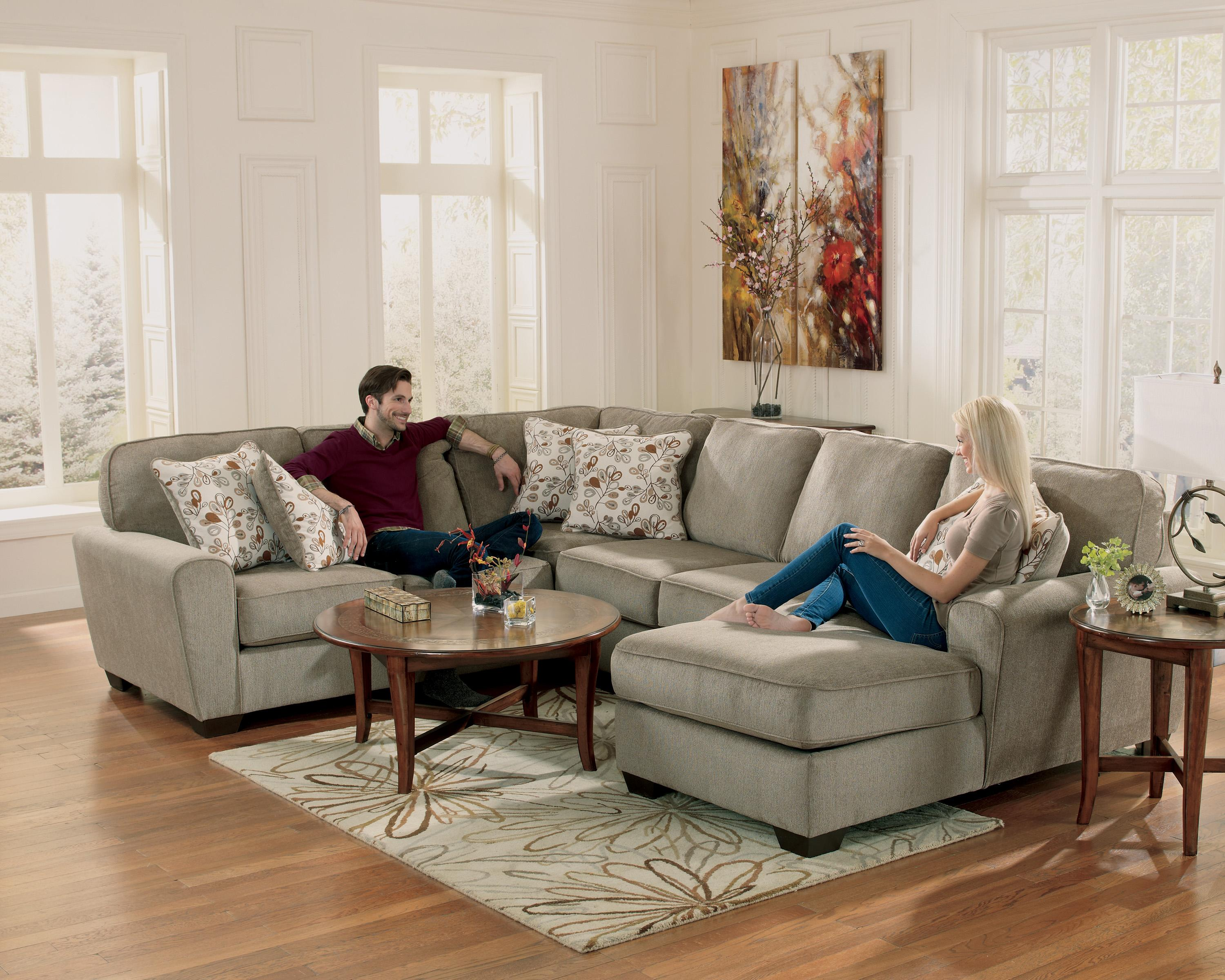 Wonderful Ashley Furniture Patola Park - Patina 4-Piece Sectional with Right  FQ36