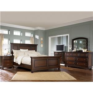porter 697 by ashley furniture gill brothers furniture ashley furniture porter dealer. Black Bedroom Furniture Sets. Home Design Ideas
