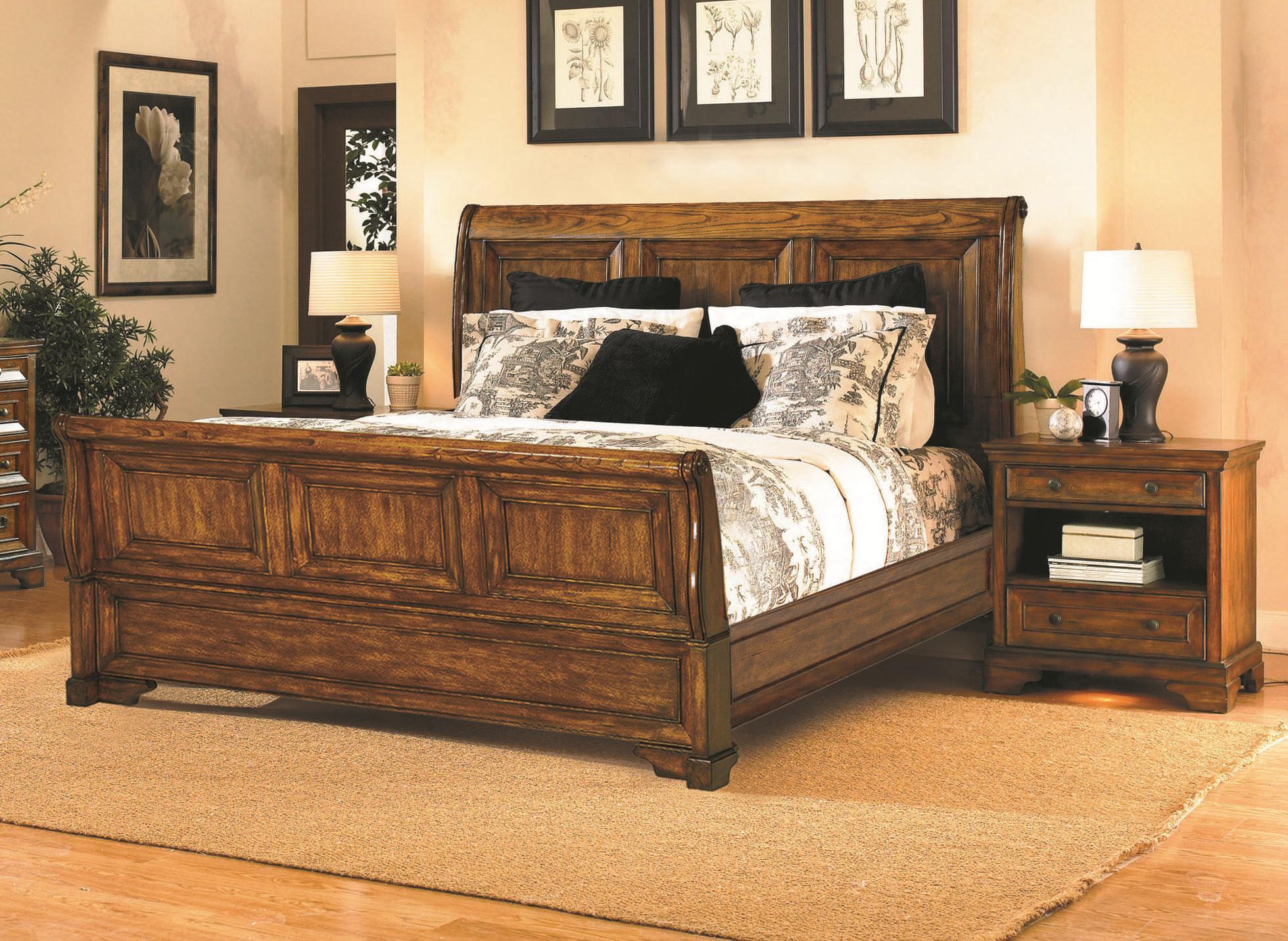 Aspenhome centennial king bedroom group stoney creek for Stoney creek bedroom set