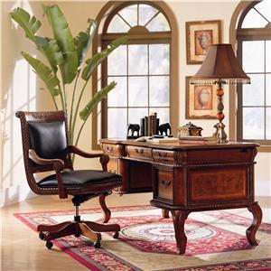 Aspenhome Napa Round Nightstand With 2 Drawers 1 Shelf