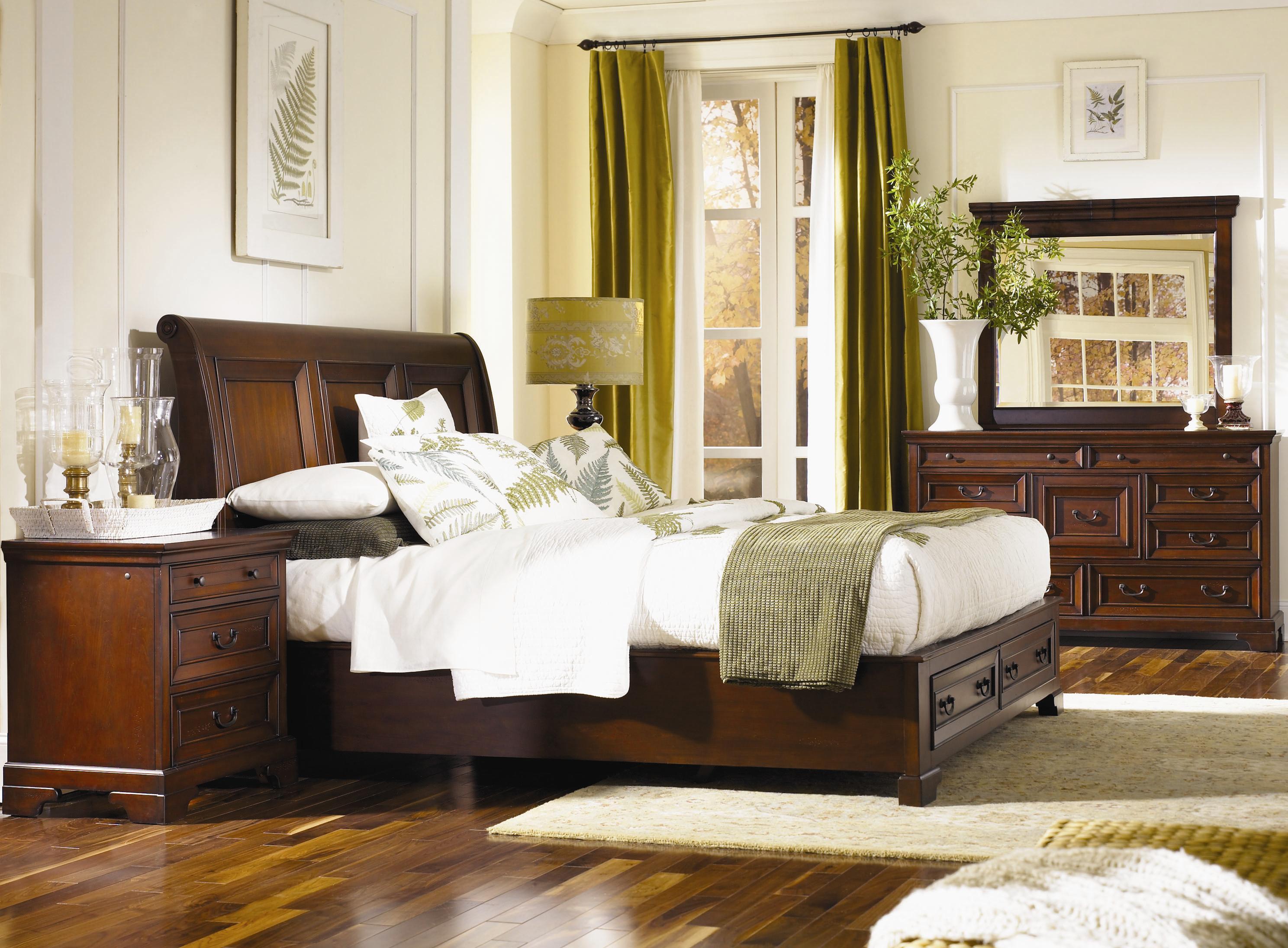 Aspenhome Richmond King Bedroom Group Belfort Furniture Bedroom Groups