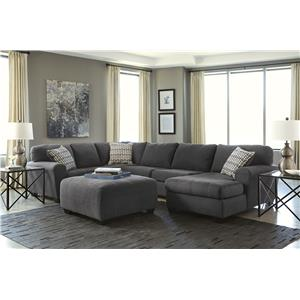 Benchcraft sorenton 3 piece sectional with chaise del for Ikea avondale az