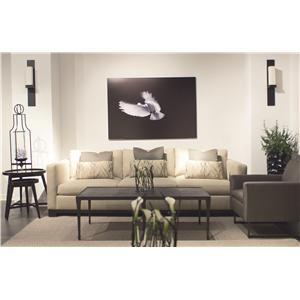 Bernhardt lanai modern living room chair with high end for Bernhardt living room furniture