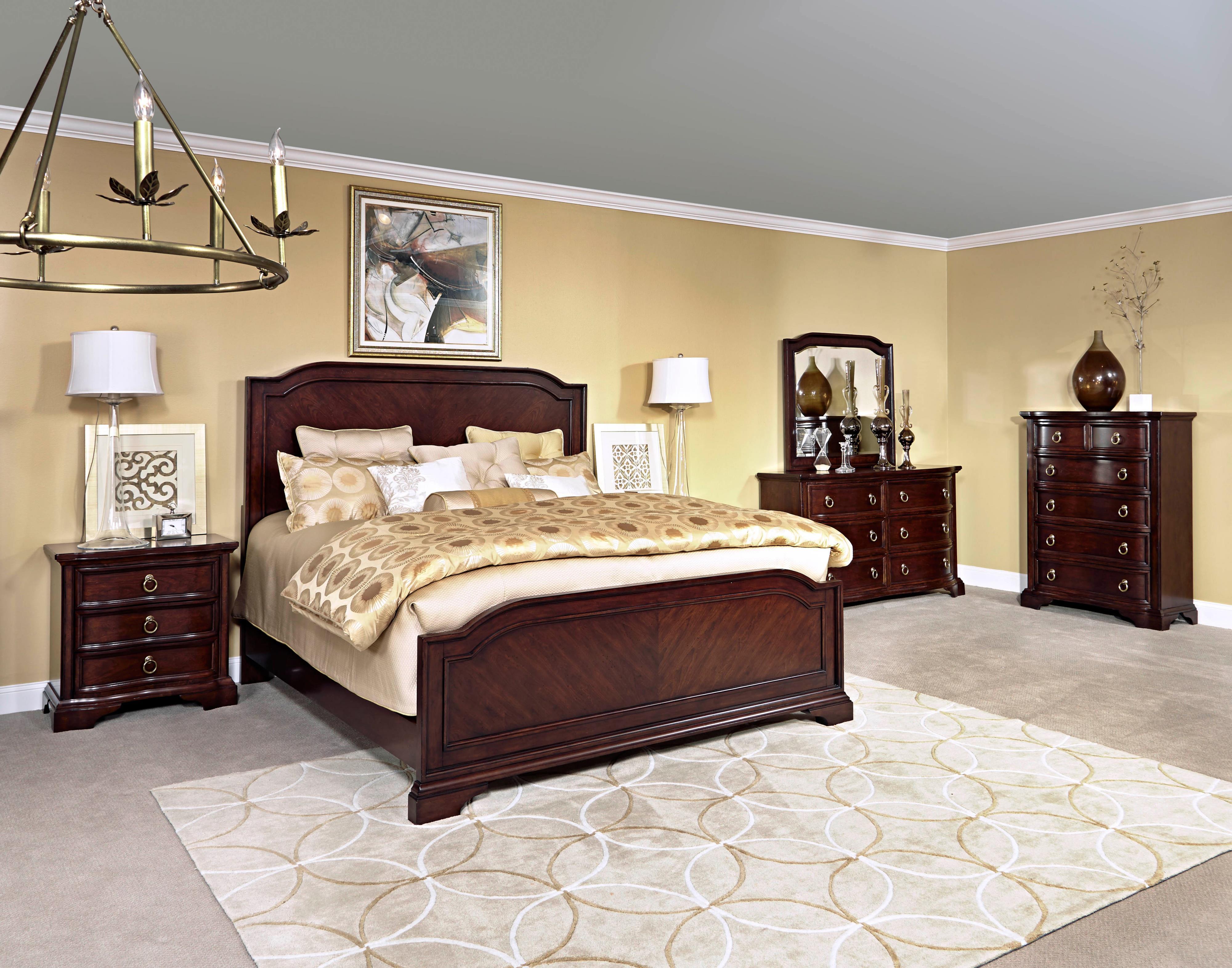 Broyhill Furniture Elaina King Bedroom Group Lindy s