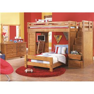 Canyon Creekside puter Desk w Hutch
