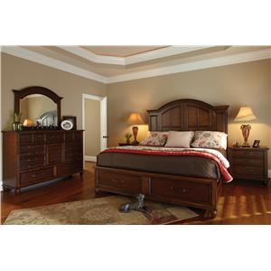 Carolina Preserves By Klaussner Blue Ridge Queen Bedroom Group Missouri Furniture Bedroom