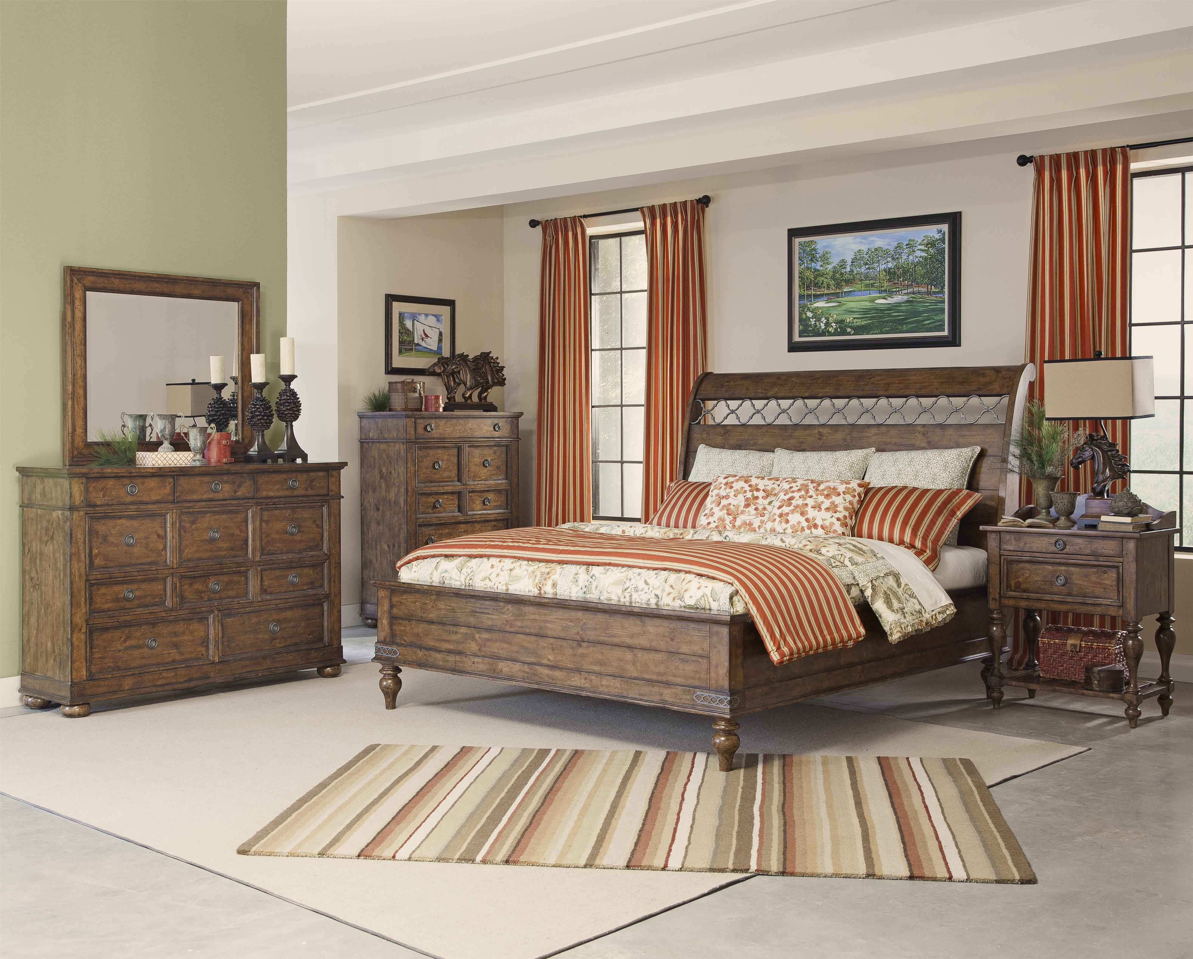Carolina Preserves By Klaussner Southern Pines Queen Bedroom Group Ivan Smith Furniture