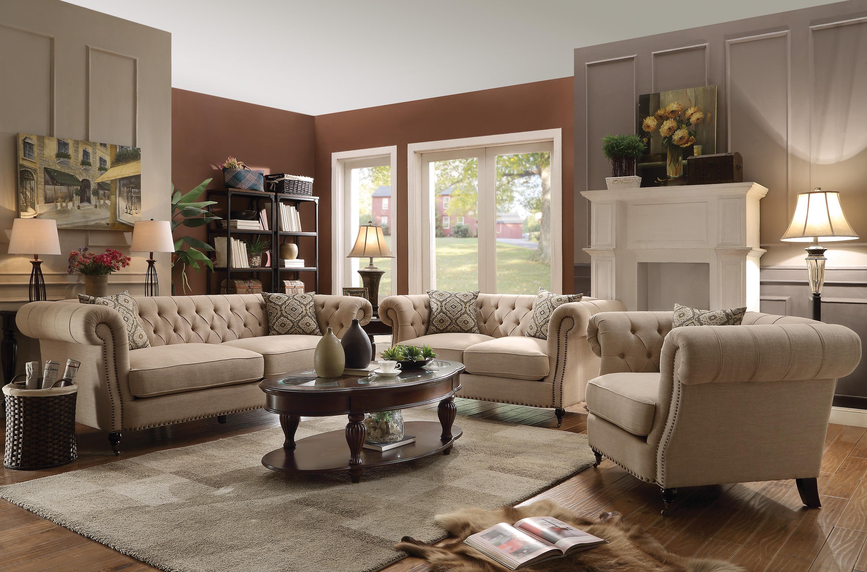 Coaster trivellato stationary living room group dream for Living room group sets