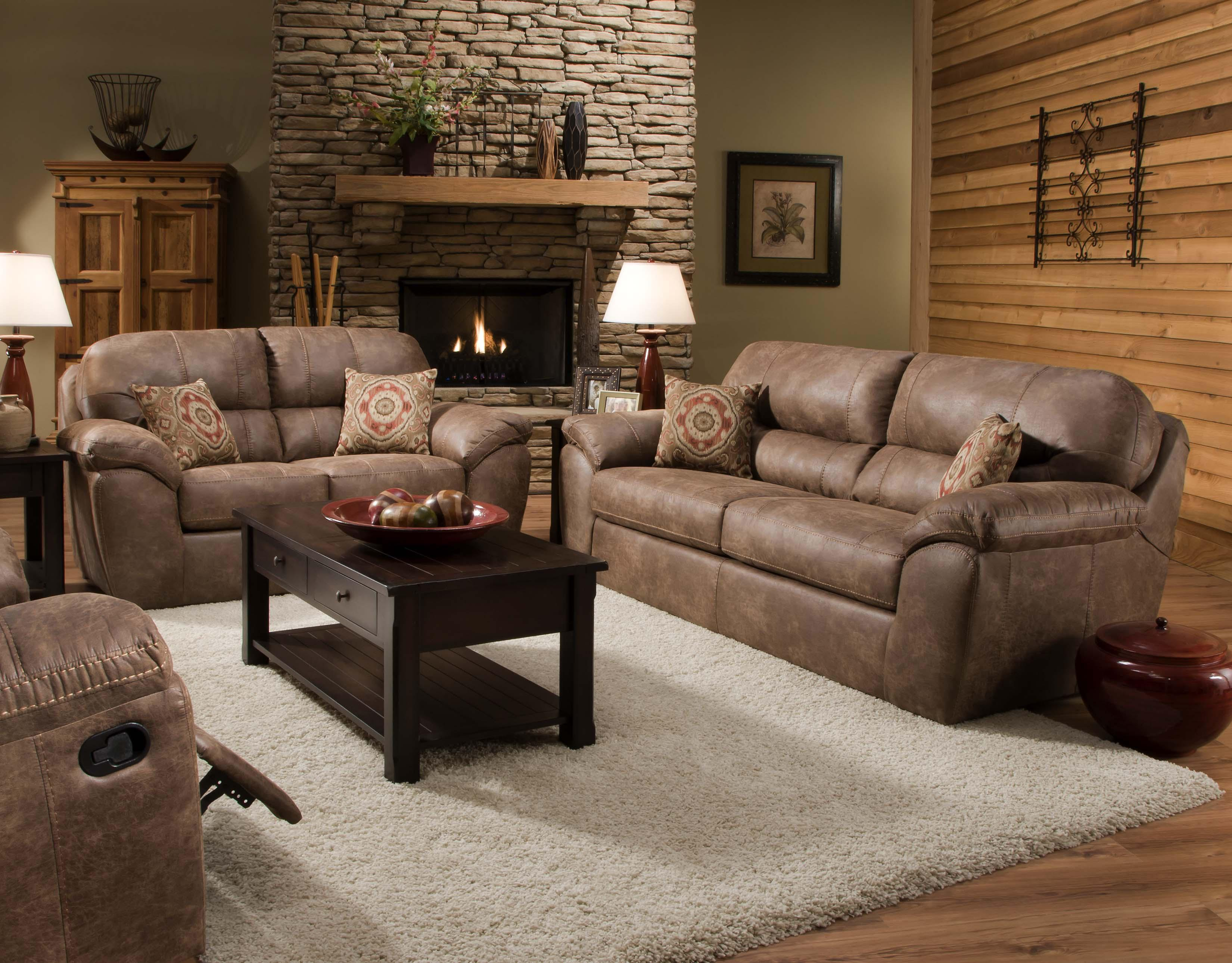 Ulyses River Rock Stationary Living Room Group By