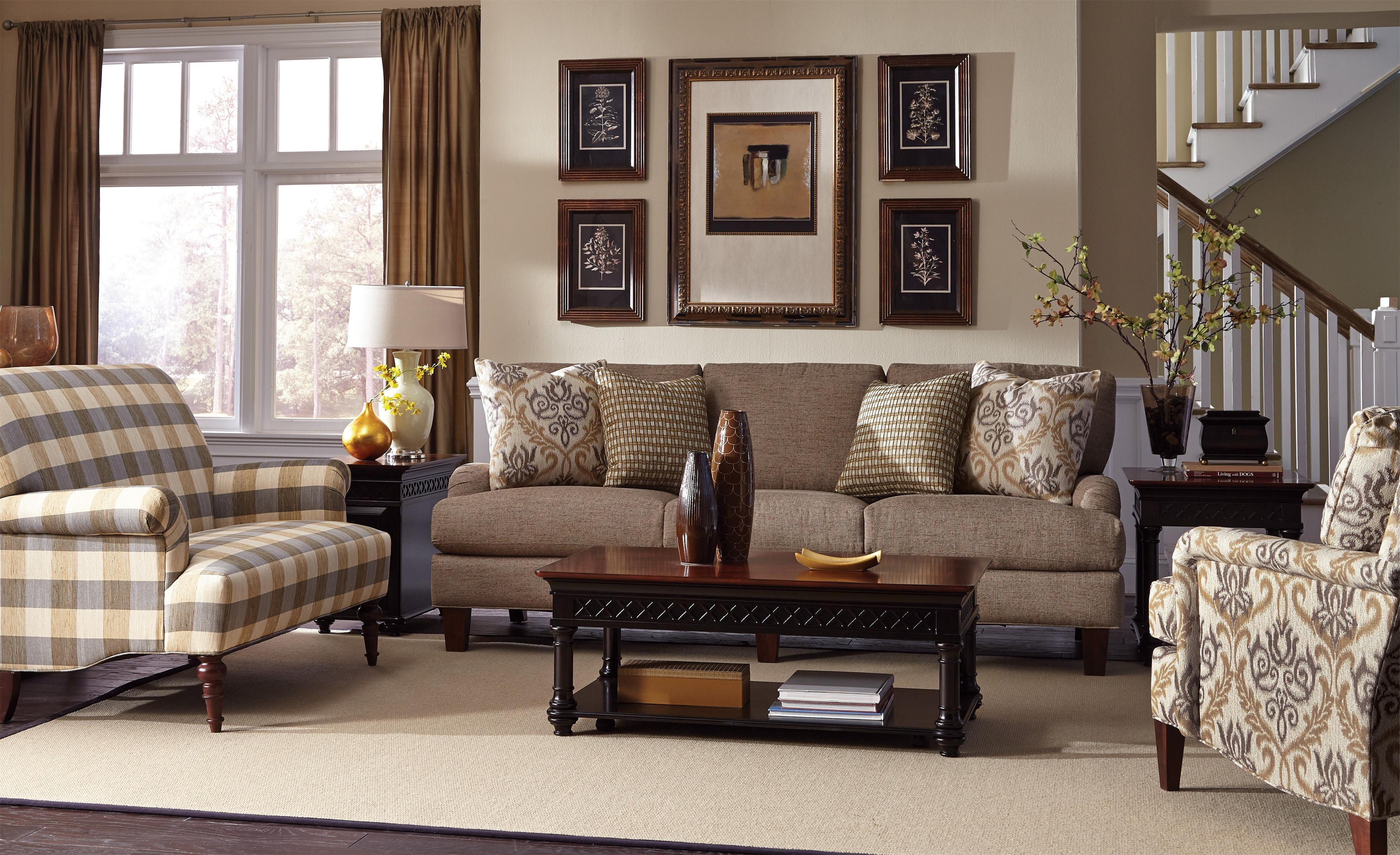 Craftmaster 7430 Stationary Living Room Group Olinde 39 S Furniture Upholstery Group