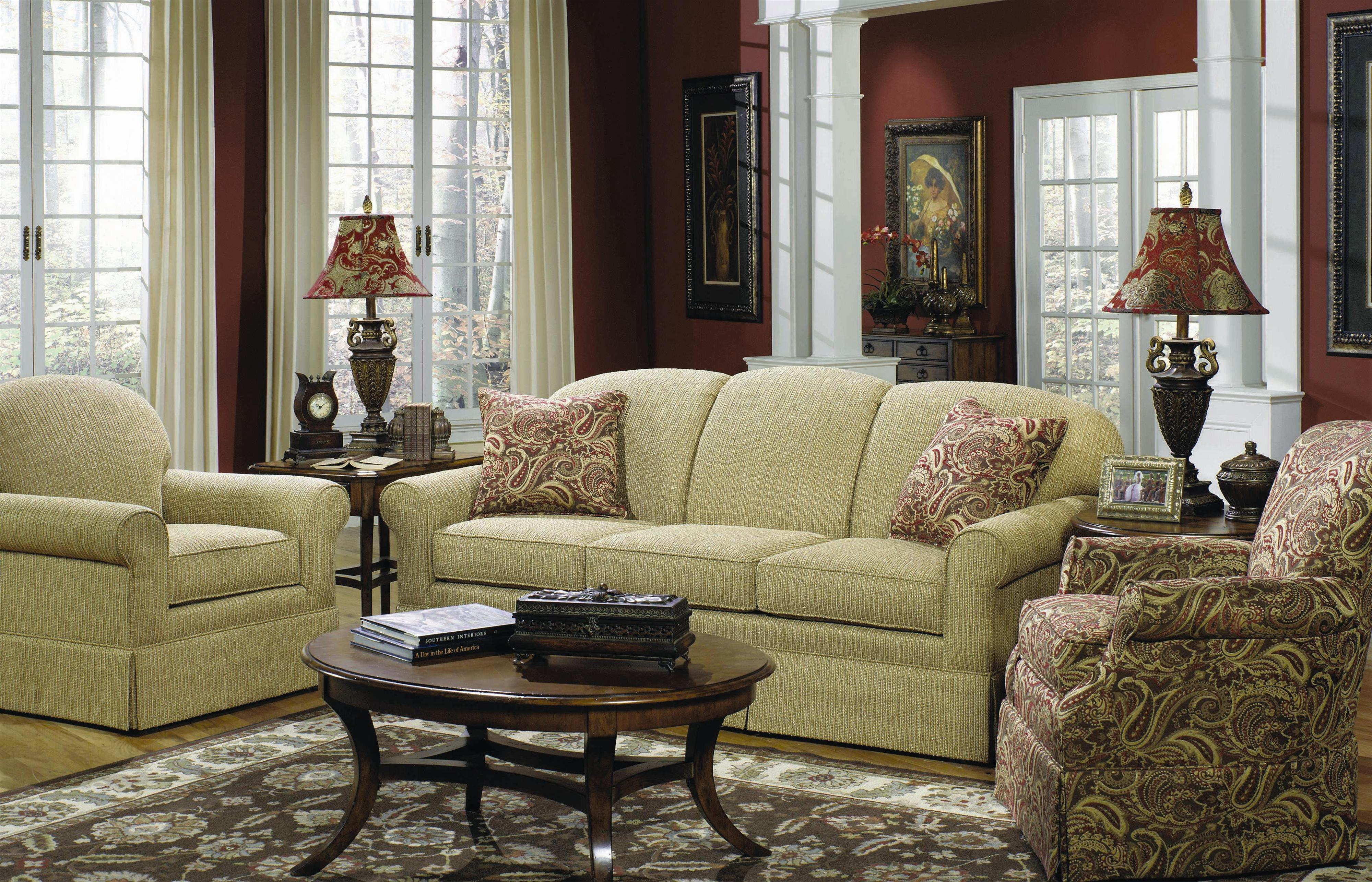 Craftmaster 9182 Stationary Living Room Group Olinde 39 S